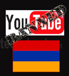 youtube ban armenia