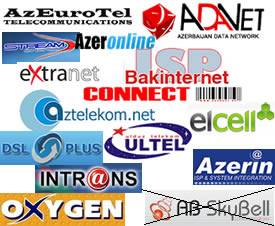 Azerbaijan Internet Providers ISP