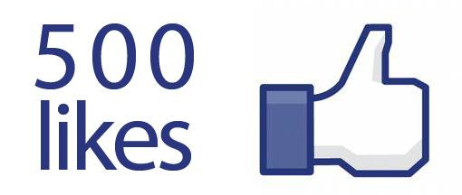 500fblikes